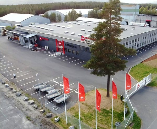 Byggmakker Hønefoss sin fasade